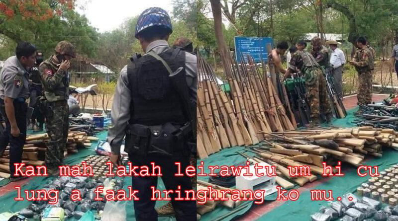 Dalan Ruangah Mipi Meithal/Hriamnam Ralhrang Sin A Phan.
