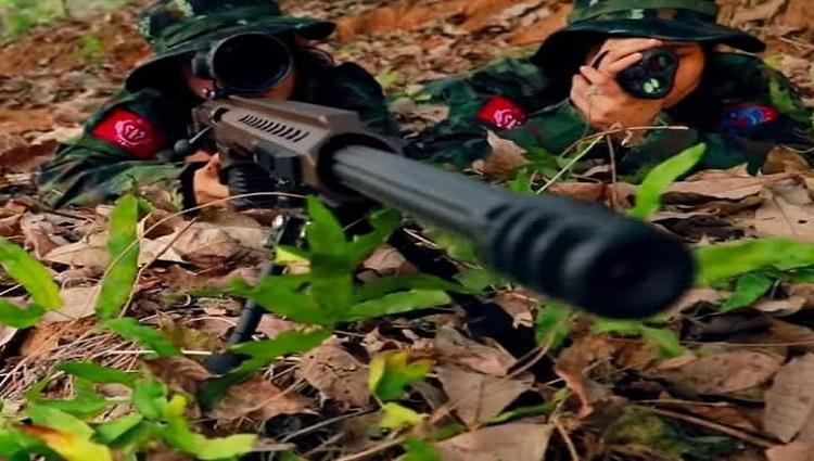 AA pawl nih ahmang mi Sniper hna cu, Barret Sniper Rifles le adang hna cu?