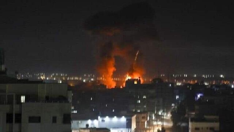 Nihin zing ah Israel nih Gaza strip ah Bomb an thlak hawi cang ko, Hamas pawl he idohnak hram thawh asi hawi lai hih!