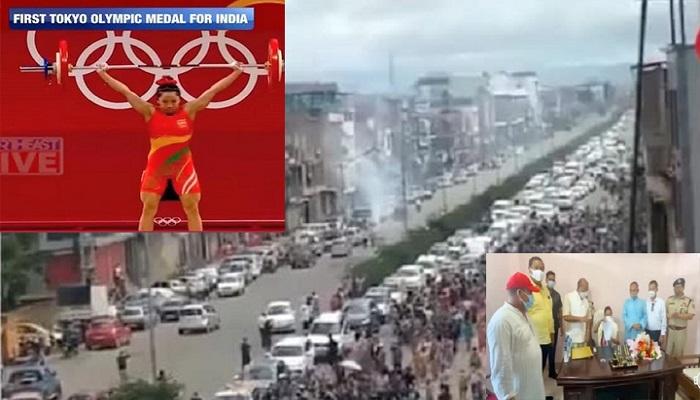 India ai awh in Japan ram Tokyo khuapi Olympics game ngeihnak ah akal mi Manipur Nungak Mirabai Chanu cu, Manipur Chief Minister nih tangka ting 100 apek,