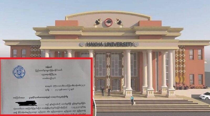Tulio Hakha University Thawngpang!