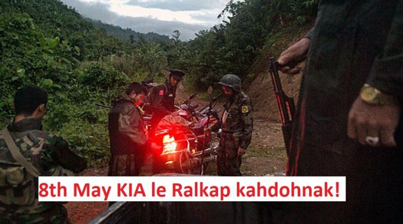 Vuachawng Khua Pawngah Ralkap Le KIA An I Kap!
